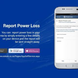 DYK that you can report #poweroutages on MyEskom Customer App   ? The system wil… 66278040 2928503810509677 7507486804866498560 o 320x320
