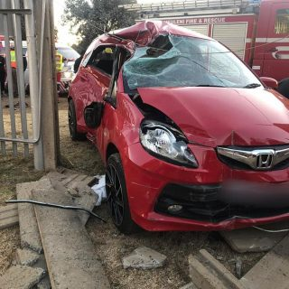 Gauteng: At 16H45 Wednesday afternoon Netcare 911 responded to reports of a coll… 66788863 2423868040967651 418410177763475456 n 320x320