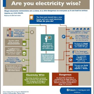 Be electricity wise and connect legally. 67236406 2954801871213204 4716289663453626368 n 320x320