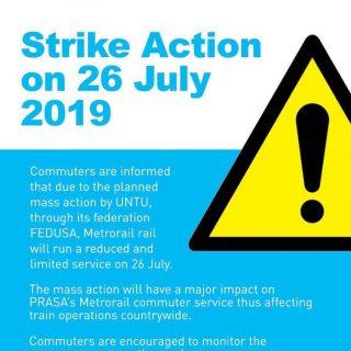 #ServiceAdvisory  Reduced service on Friday, 26 July 2019. #BeTrainSmart 67300189 3439485922743636 3980600390289719296 o 320x320