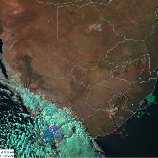 Late afternoon satellite image (23 July 2019). Cold front over the western parts… 67314899 1063557127180943 7289013603909238784 o 320x320