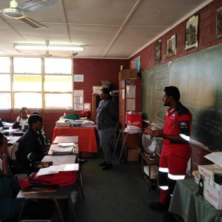 The ER24 Durban crews spent some time today at various schools, teaching them ab… 67331677 2436504366410913 8195354658026291200 o 320x320