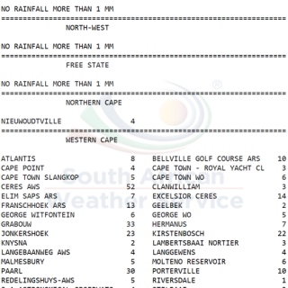 24 hour #rainfall measured at 8:00 this morning.    How much did you measure? 67364647 1060820734121249 3893862550789423104 o 320x320