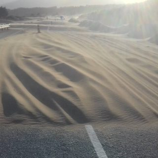 Another sandstorm on the R321. Road closed. 67403517 2275066492542163 843692470704275456 o 320x320