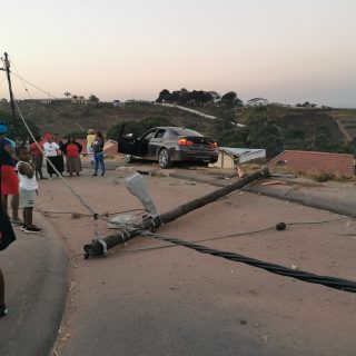 Driver Crashes Newly Purchased Vehicle: Trenance Park – KZN  A BMW 330d was exte… 67610794 2612407765444468 6562606833108779008 o 320x320