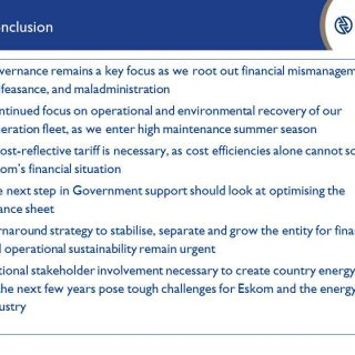 #AnnualResults2019 Conclusion:  continued focus on governance and operational an… 67611094 2968224063204318 3066396024147804160 n 320x320
