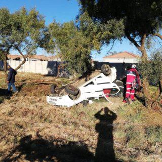 [LANGENHOVENPARK] – Woman injured when vehicle overturns. – ER24 LANGENHOVENPARK     Woman injured when vehicle overturns 320x320