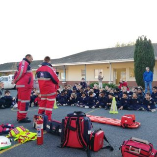 The ER24 East Metro crews were invited to present a show and tell at Helderberg … 67773152 2450216111706405 6023515487441256448 o 320x320