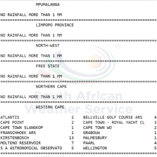 24 hour #rainfall measured at 8:00 this morning. 67899018 1077139065822749 192801215061426176 n 320x320