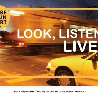#BeTrainSmart Look, Listen, Live. Your safety matters! 67911321 3499430670082494 6954552427416649728 o 320x320