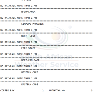 24 hour #rainfall measured at 8:00 this morning. 67943799 1070952939774695 1468630639136735232 n 320x320