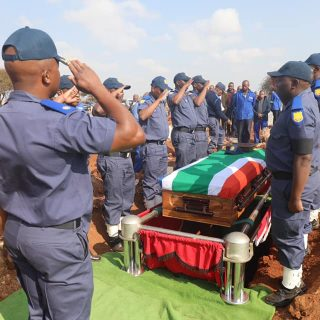 Today we bid farewell to one of our own #RIP officer T Mokaila… 68275633 2361411053941005 9186213839530622976 n 320x320
