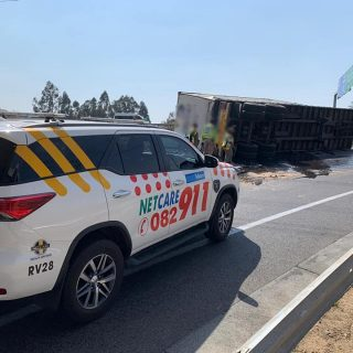 Gauteng: At 12H03 Thursday  afternoon Netcare 911 responded to reports of a coll… 68528652 2476138042407317 8983103070871224320 n 320x320