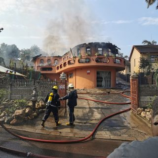 House Destroyed In Fire: Sandfields – KZN  The upper level of a home on Abbu Gov… 68789541 2663599930325251 3944808748479938560 o 320x320