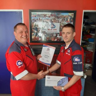 Well done to Heinrich Pheiffer, from the ER24 Johannesburg North Branch, on rece… 68798354 2464628186931864 1255144024059150336 o 320x320