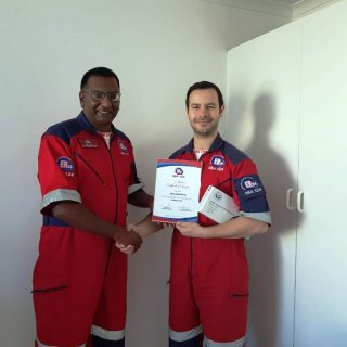 Congratulations to Dewaldt Maritz and Jamy Haupt from ER24 East Metro (Cape Town… 69106968 2471843249543691 9025876658762022912 o 320x320