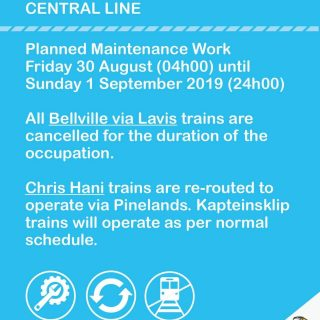 #CentralLineCT  Planned Weekday/Weekend maintenance work from 30 August – 1 Sept… 69224913 3546201232072104 779249312516276224 o 320x320