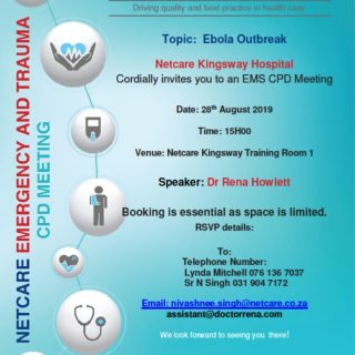 KwaZulu-Natal: Netcare Kingsway Hospital invites all healthcare professionals to… 69359682 2496608390360282 5839685114736410624 o 320x320