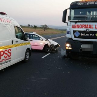 26 August 2019  Accident N2 – Zinkwazi   N2 Zinkwazi, head-on collision. One lan… 69379981 3071546416253971 1240798511167963136 o 320x320