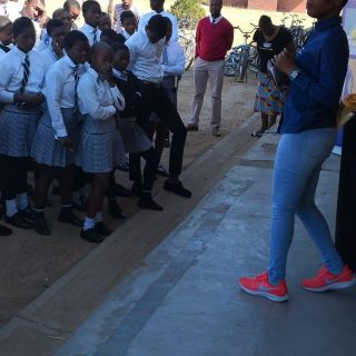 #EskomKZN with Maqoqa High School and Okhombe learners in Bergville to emphasize… 69467965 3022127184480672 8383371562987814912 n 320x320