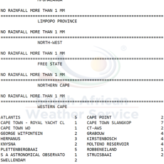 24 hour #rainfall measured at 8:00 this morning.   How much did you measure? 69584409 1085019495034706 8261677852248768512 n 320x320