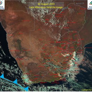 Late afternoon satellite image (30 Aug 2019) – Cold front situated to the south-… 70454798 1087656621437660 2351793734737199104 o 320x320