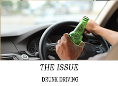 DRUNK DRIVING JT247 THE ISSUE  DRUNK DRIVING