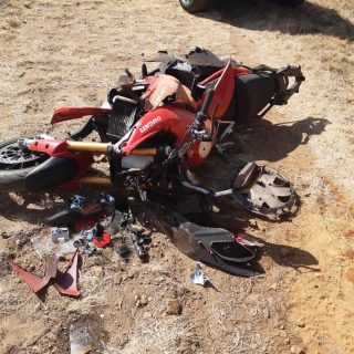 [VANDERBIJLPARK] Motorbike collides with two cyclists – ER24 Ravel road MBA 2019 08 18 at 12
