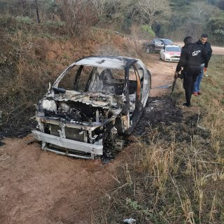 Hijacked Vehicle Torched: Ndwedwe – KZN  The burnt out remains of a hijacked Toy… 69640998 2694553060563271 4205617570922889216 o 320x320