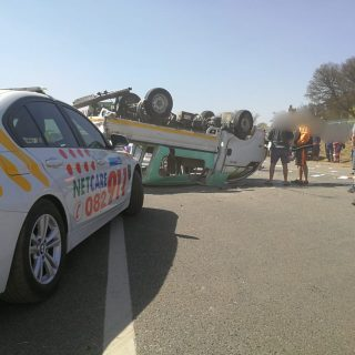 Gauteng: At 10H51 Tuesday morning Netcare 911 responded to reports of a collisio… 69785437 2511940885493699 71066749377708032 o 320x320