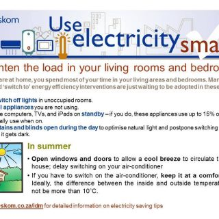 #UseElectricitySmartly and lighten the load in your living rooms and bedrooms. 69942468 3035694403123950 510784019378470912 o 320x320