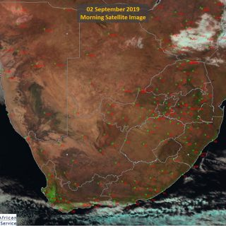 Morning Satellite image with mostly clear skies over the country but party cloud… 69998765 1089452417924747 9076431632176513024 o 320x320