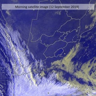 Morning satellite image (12 September 2019). Cold front will be affecting the so… 70351022 1096225650580757 5756326327871340544 o 320x320