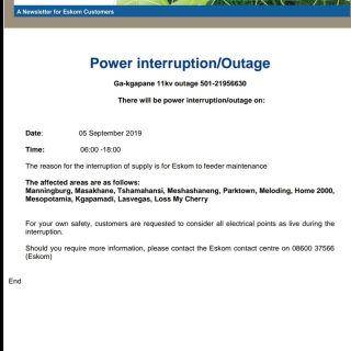 #Eskom_Limpopo   Power interruption/Outage 70528906 3040029189357138 3333223882478845952 o 320x320