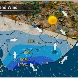 A good chance of rainfall over parts of the Western and Eastern Cape provinces t… 70966274 1108063466063642 167311176865153024 o 320x320