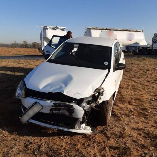 Fortunately, no-one sustained any injuries following a collision between a truck… 71680180 2545823078812374 7413989567310594048 o 320x320