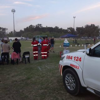 ER24 Vaal is doing volunteer standby at the Cancer for Life relay event held in … 71782052 2548212581906757 8514759474475433984 o 320x320
