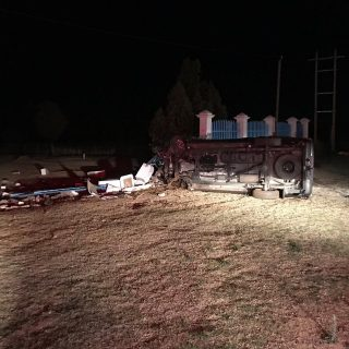 Two people were injured after a bakkie and a light motor vehicle collided on the… 71800040 2547531111974904 2860643927910776832 o 320x320
