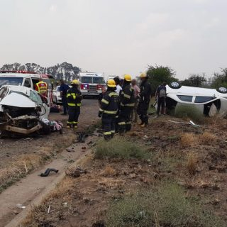 [MEYERTON] One killed, four injured in a two-vehicle collision – ER24 MEYERTON One killed four injured in a two vehicle collision 320x320