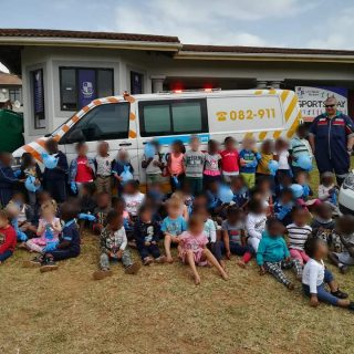 KwaZulu-Natal: Netcare 911 was invited by the Little Rascals Pre-school in Balli… 71480619 2573747172646403 2389435257616072704 n 320x320