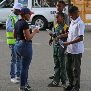 Promoting Road Safety targeted at road users arriving at Mangaung for the #Macuf… 71654377 2475583502523759 1483340945075208192 n 320x320