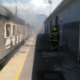 At 13:40 the City's Fire & Rescue Service responded to a train alight at Gl… 71818752 2413411935374284 6238605551249391616 o 320x320