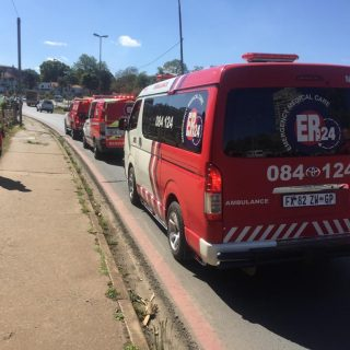 ER24 paramedics transported a mother and her newborn baby to Northdale Provincia… 72252289 2573505472710801 713652955609300992 o 320x320