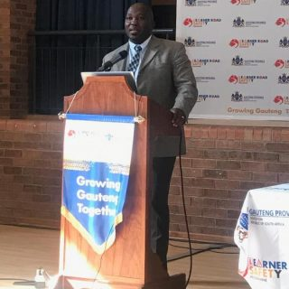 Leaner Road Safety Education engagements with the Gauteng Department of Basic Ed… 72284612 2473230452759064 8426502139970322432 n 320x320