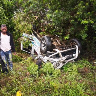 Bakkie Overturns: Umdloti – KZN  Several people were injured after a bakkie they… 75247470 2795985123753397 7119134156860162048 o 320x320