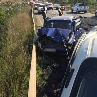 [CRAMOND] – Car and light delivery vehicle collide leaving one dead, four injured. – ER24 CRAMOND     Car and light delivery vehicle collide leaving one dead four injured 320x320