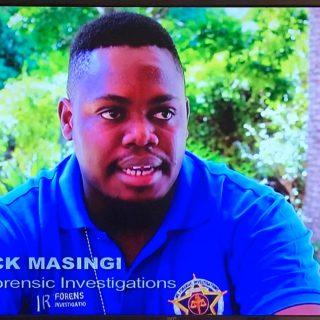 IRS senior investigator, Enock Masingi, on SABC 3 Special Assignment: The Offici… 73533100 2782414911789898 6344203837686939648 o 320x320