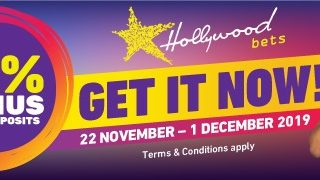 Attention all Hollywoodbets players!  15% bonus on all deposits up to R20 000 – … 74325539 2995238417166601 187450132487208960 n 320x180
