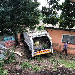 Five Injured In Garbage Truck Accident:  Buffelsdraai – KZN  Four (4) adults and… 74887114 2847072391978003 8641880859940487168 o 320x320