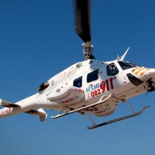 Gauteng Helicopter Emergency Medical Services: Netcare 2 a specialised helicopte… 75380216 2646357218718731 5617375571680952320 o 320x320